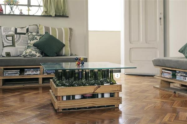 mesa de caixote