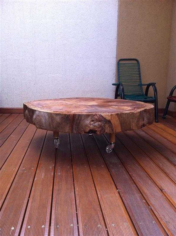 mesa de madeira rustica
