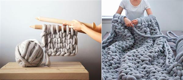 trico gigante passo a passo