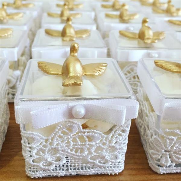 caixa acrilica batizado