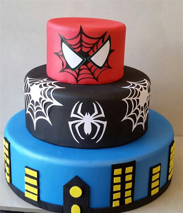 bolo-homem-aranha-3 andares