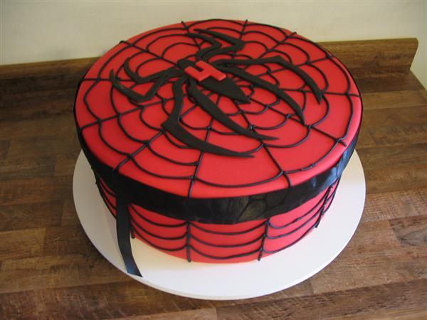 bolo homem aranha unico