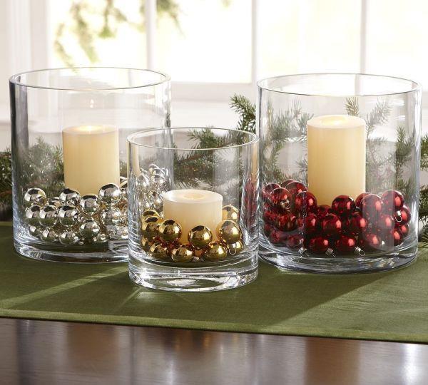 centro de mesa com copo