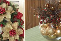 enfeites de natal simples e faceis