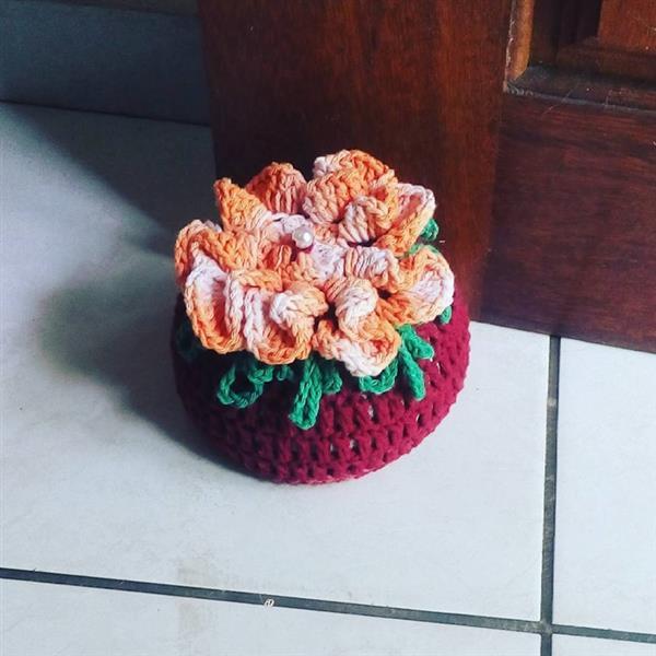 flor-de-croche-peso de porta