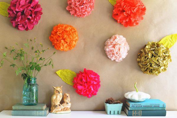 flores de crepom