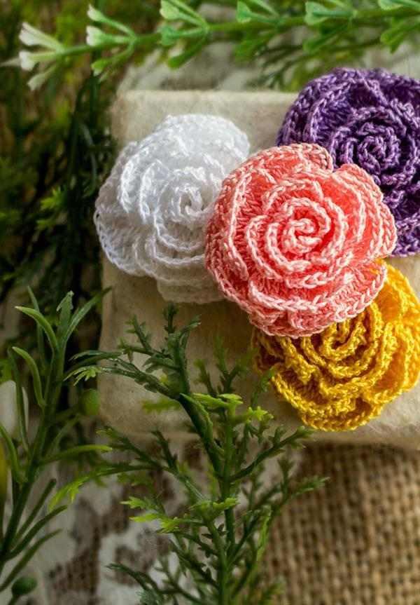 flores-de-croche com linha fina