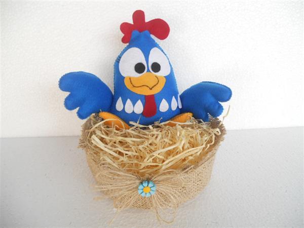 galinha cesto de palha