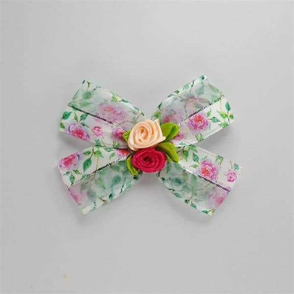 laço pet floral