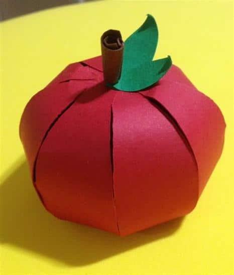 maçã de papel