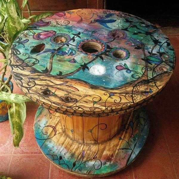 mesa-de-carretel-de-fio-eco
