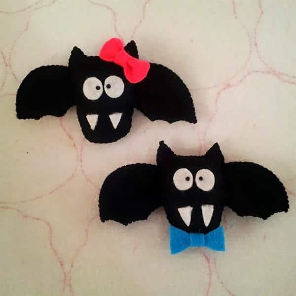 morcego de feltro