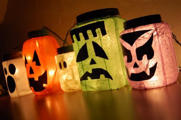 Decoração-de-Halloween monstros