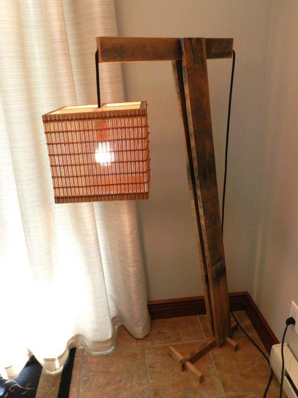 Luminária-rustica