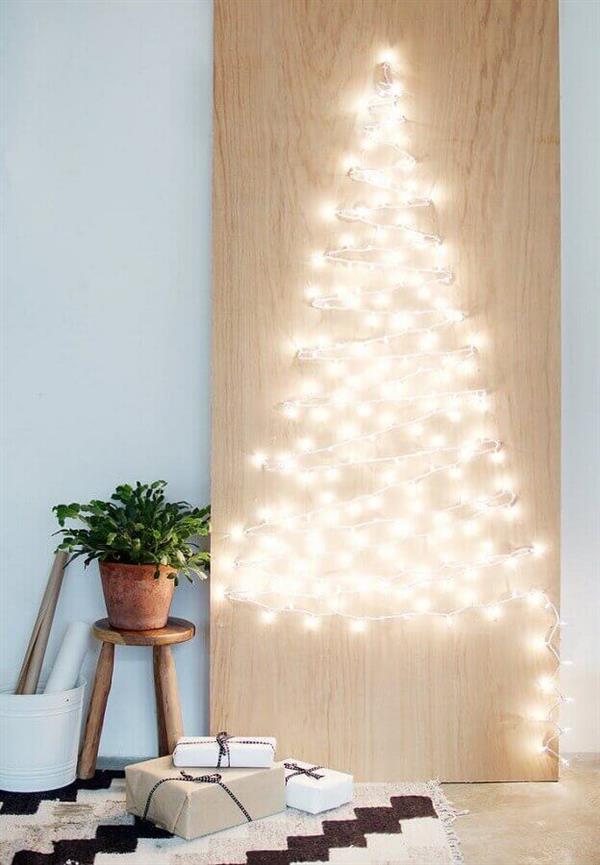 decoração-moderna-com-luzes-de-natal