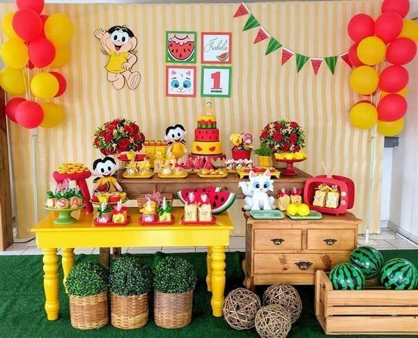 Festa-da-magali-melancia