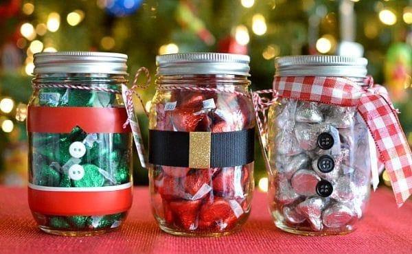 Ideias-de-Artesanatos-de-Natal-com-Potes-de-Vidro-Reciclado