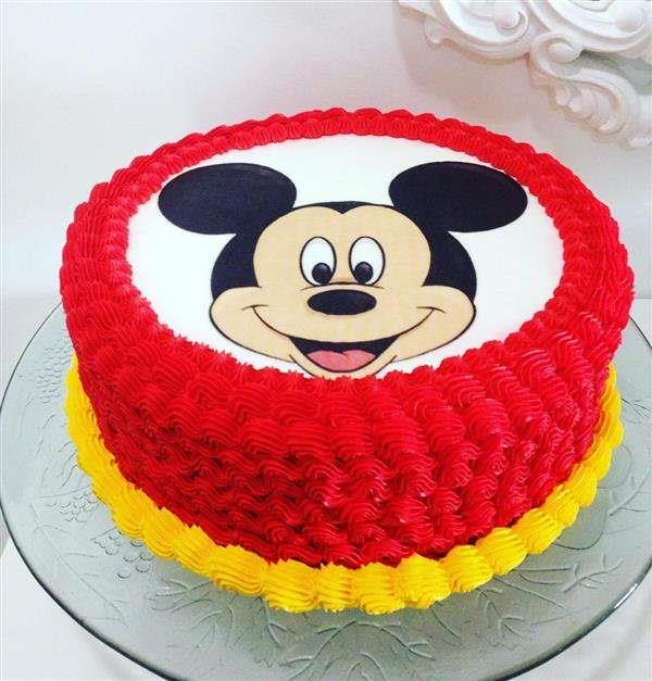 bolo-mickey-chantilly-papel de arroz