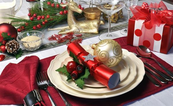 decoracao-mesa-natal-com detalhes
