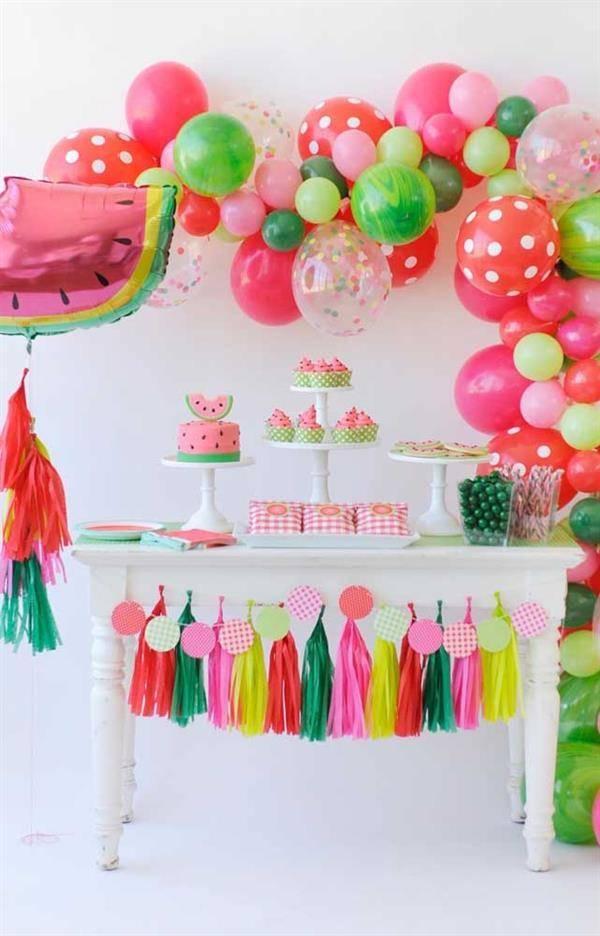festa-magali-com rosa