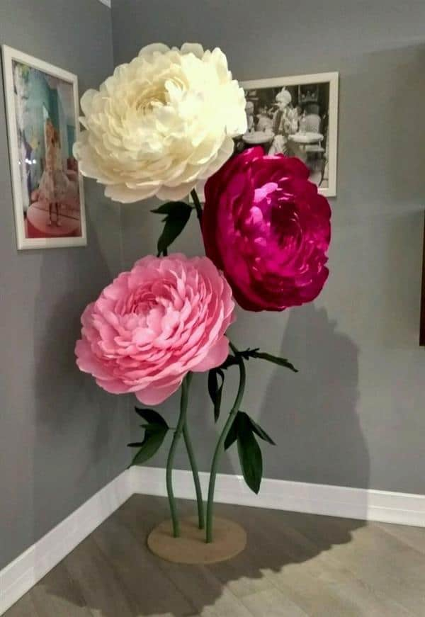 flores grandes