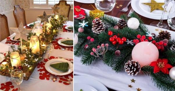mesas natalinas