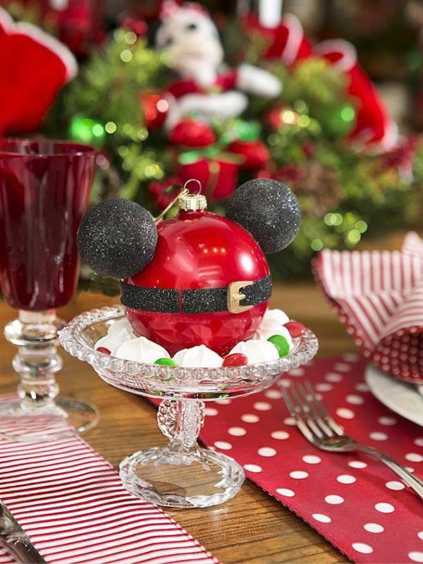 mesa de natal do mickey