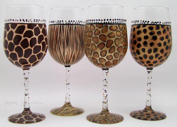 taça safari vinho