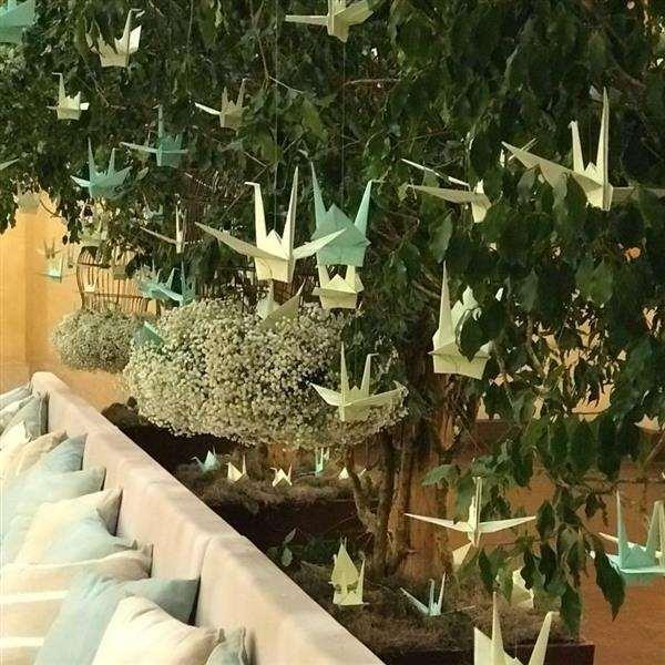 tsurus-em-fios-origami-decoracao