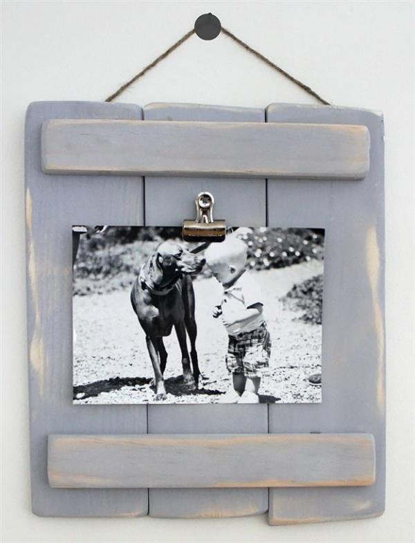 DIY-Pallet-Porta retrato