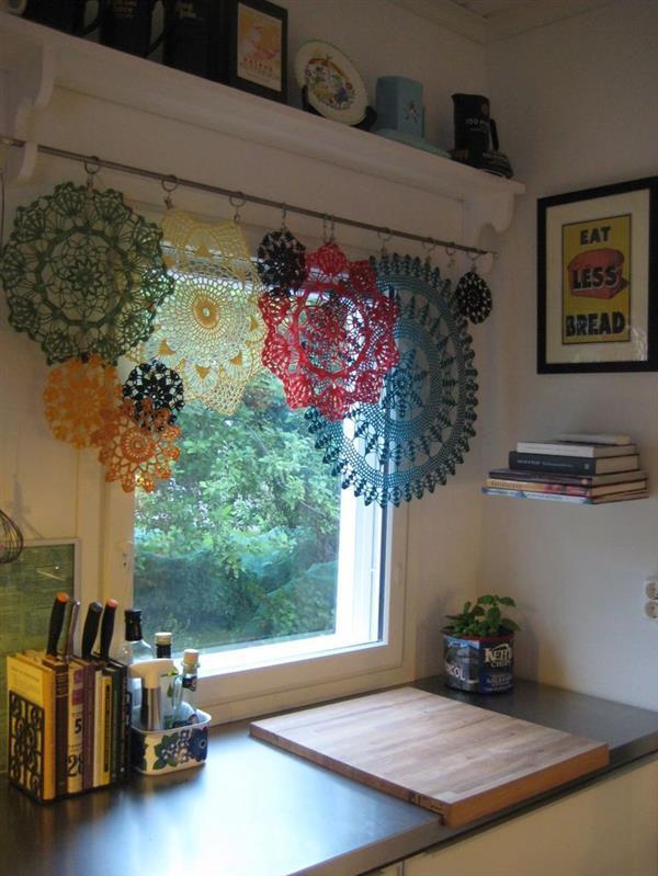 cortina paninhos de croche