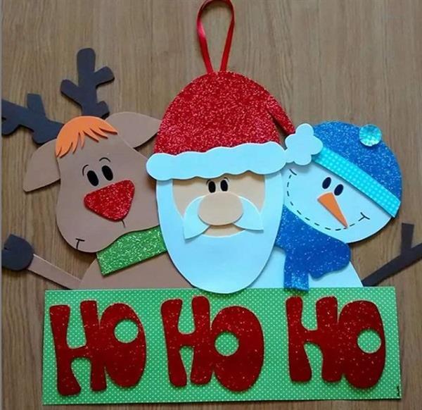lembrancinhas-de-Natal-enfeite de porta