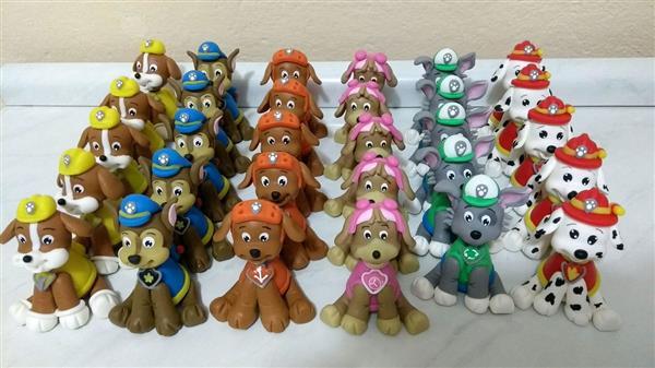 lembrancinhas-patrulha-canina-apliques-em-biscuit