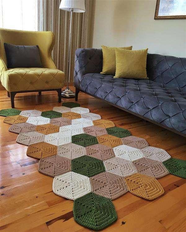 tapete-de-croche-para-sala colorido