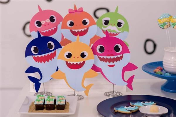 Festa-tema-Baby-Shark-