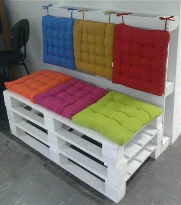 almofada individual futon