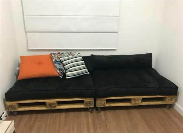 almofada sofá futon