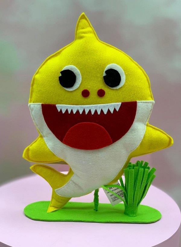 baby shark feltro