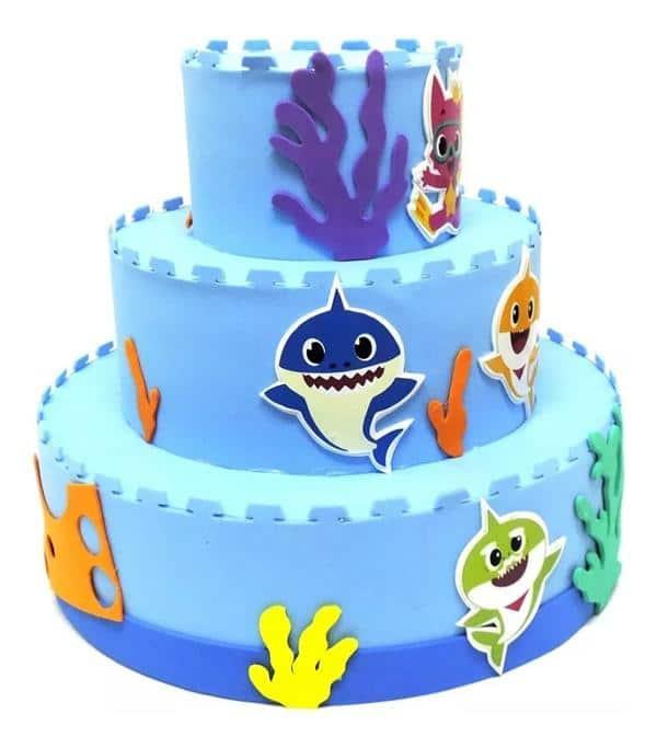 bolo-fake-festa-baby shark