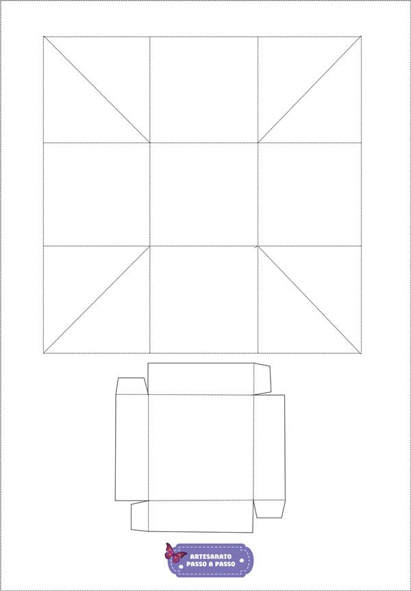 caixa explosão quadrada