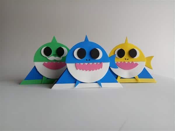 porta-guardanapo-baby-shark
