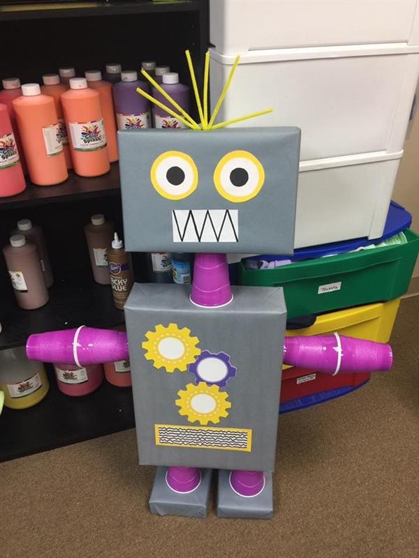 robo reciclado