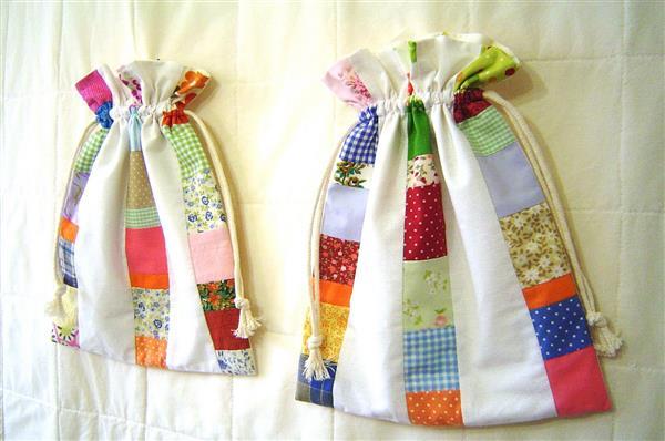 sacola de algodão