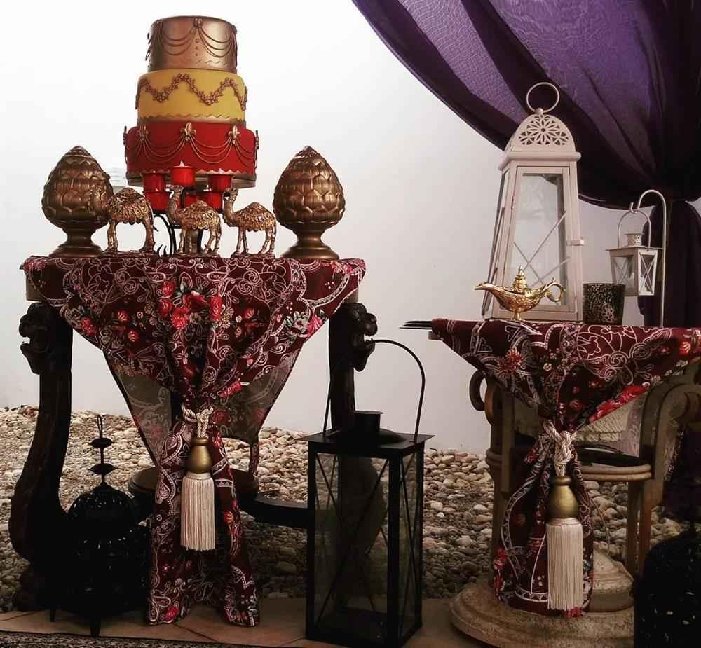 festa arabe 15 anos