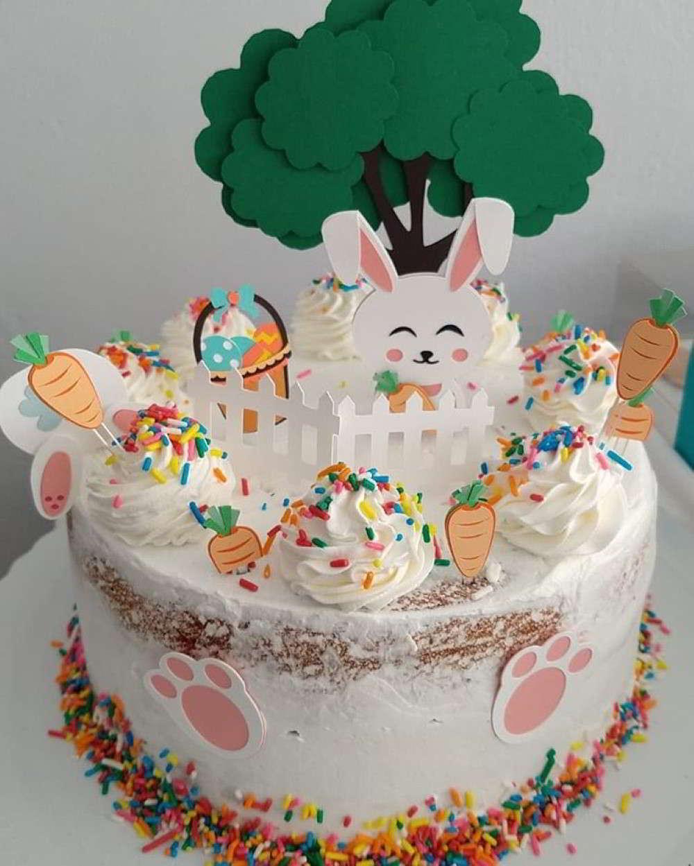 topo de bolo pascoa