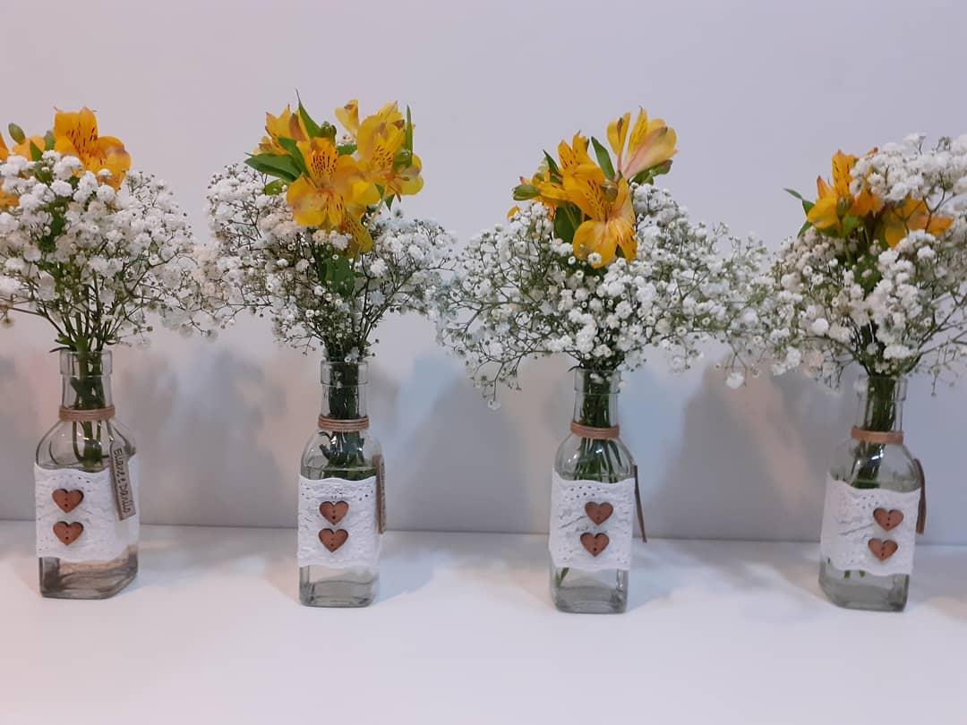 casamento com flores amarelas