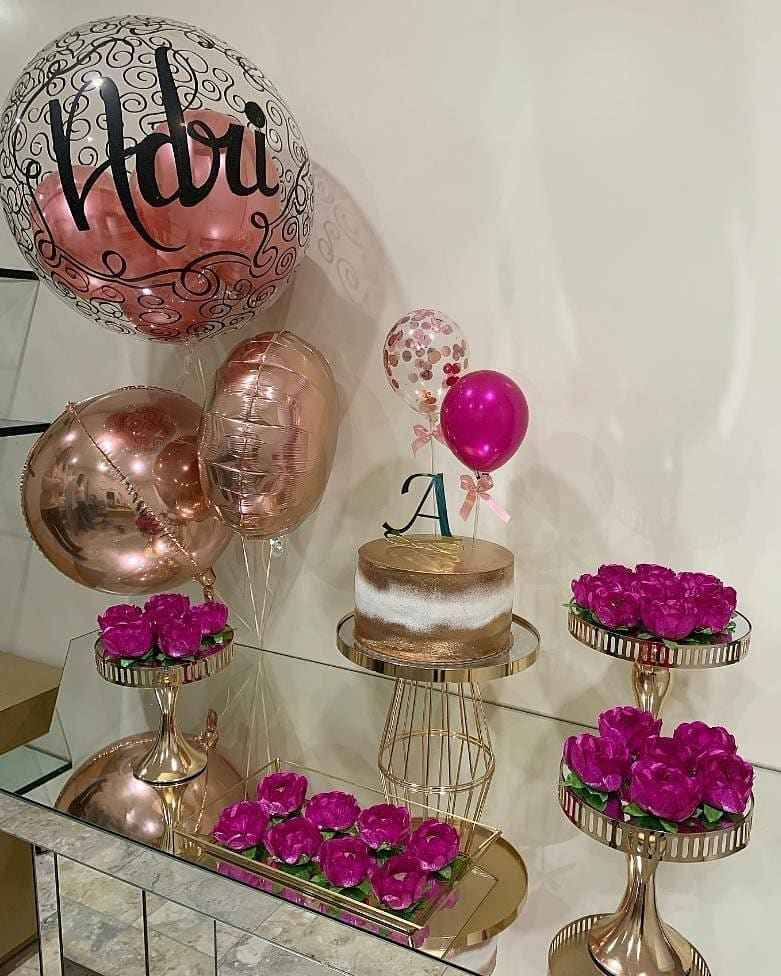 decoração de 15 anos básica