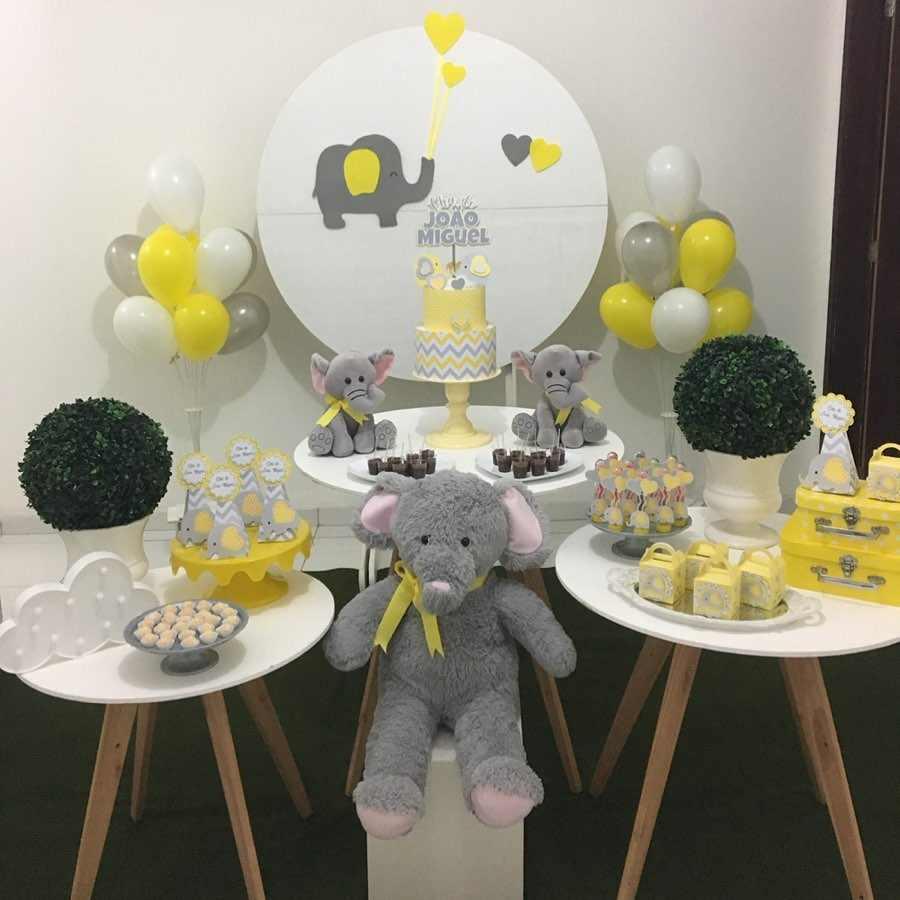 festa infantil elefantinho