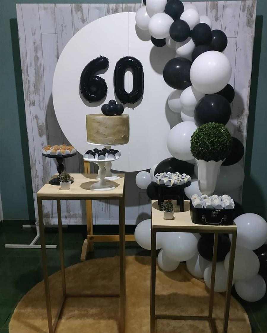 Festa 60 anos masculina