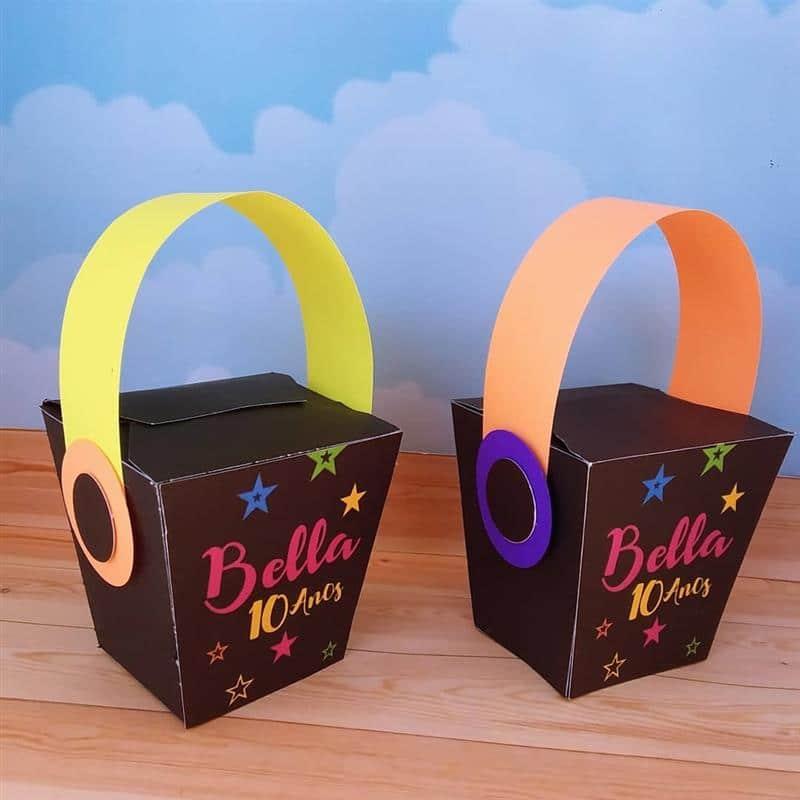 caixa inbox neon